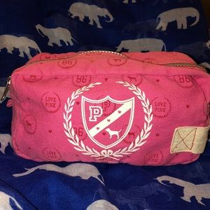PINK Victoria's Secret makeup/pencil case